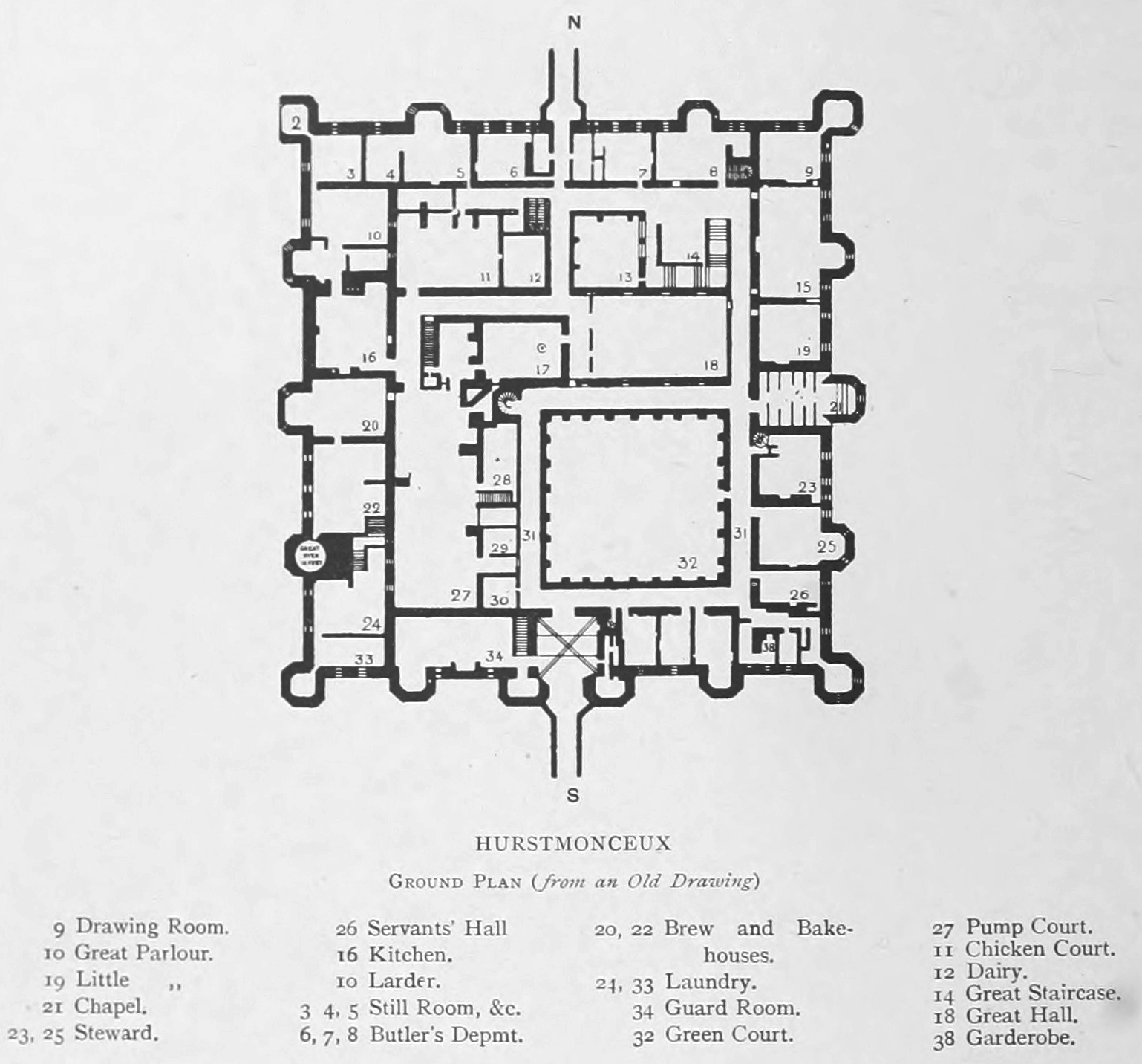 Fantasy Castle Floor Plans http://domiase.net/old-castle-floorplans/